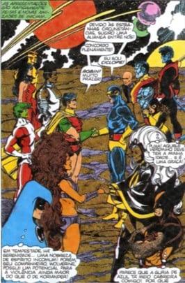 Wolverine encontro entre Marvel e DC
