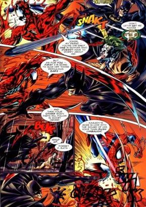 Spider e batman encontro entre Marvel e DC