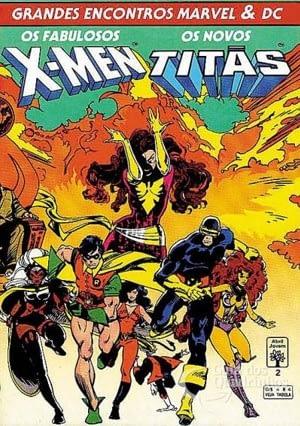 X-men e os Novos titãs encontro entre Marvel e DC